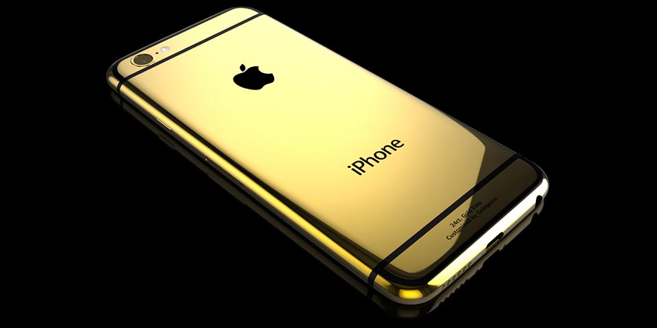 Gold-iPhone